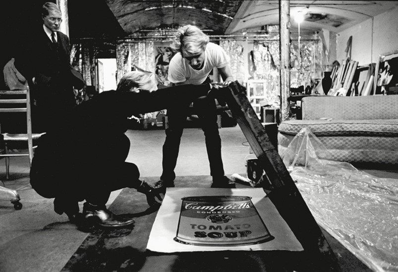 Hatchikian-Gallery-Andy-Warhol-Working-at-The-Factory-in-NYC-Blog