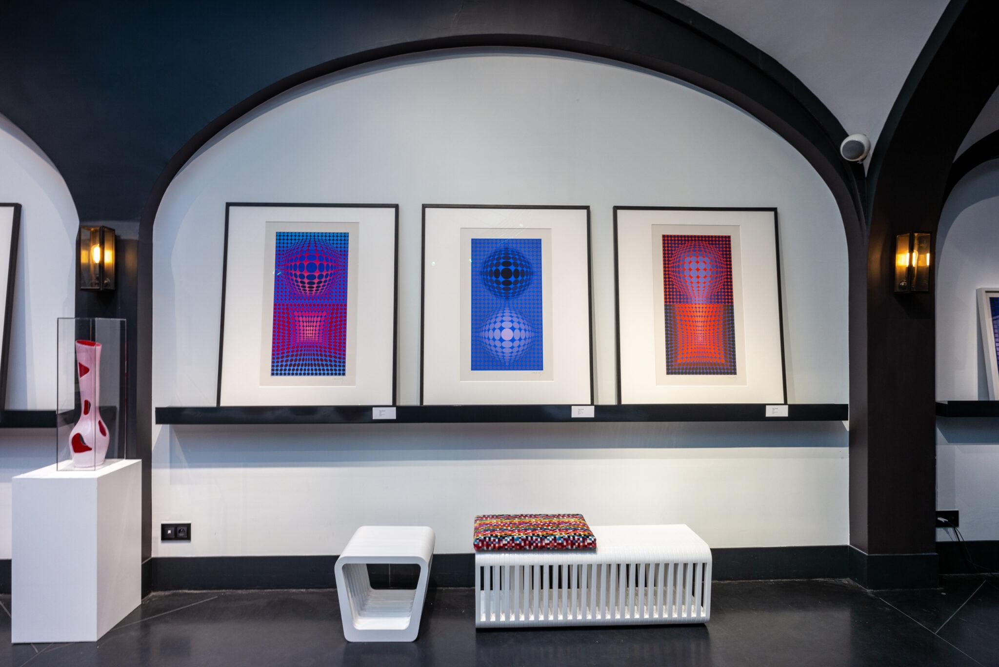 audrey-hatchikian-gallery-op-art-et-design-expo-victor-vasarely