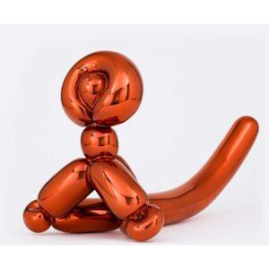 Jeff Koons - Balloon Monkey (Orange)
