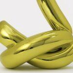Jeff Koons - Balloon Swan (Yellow)