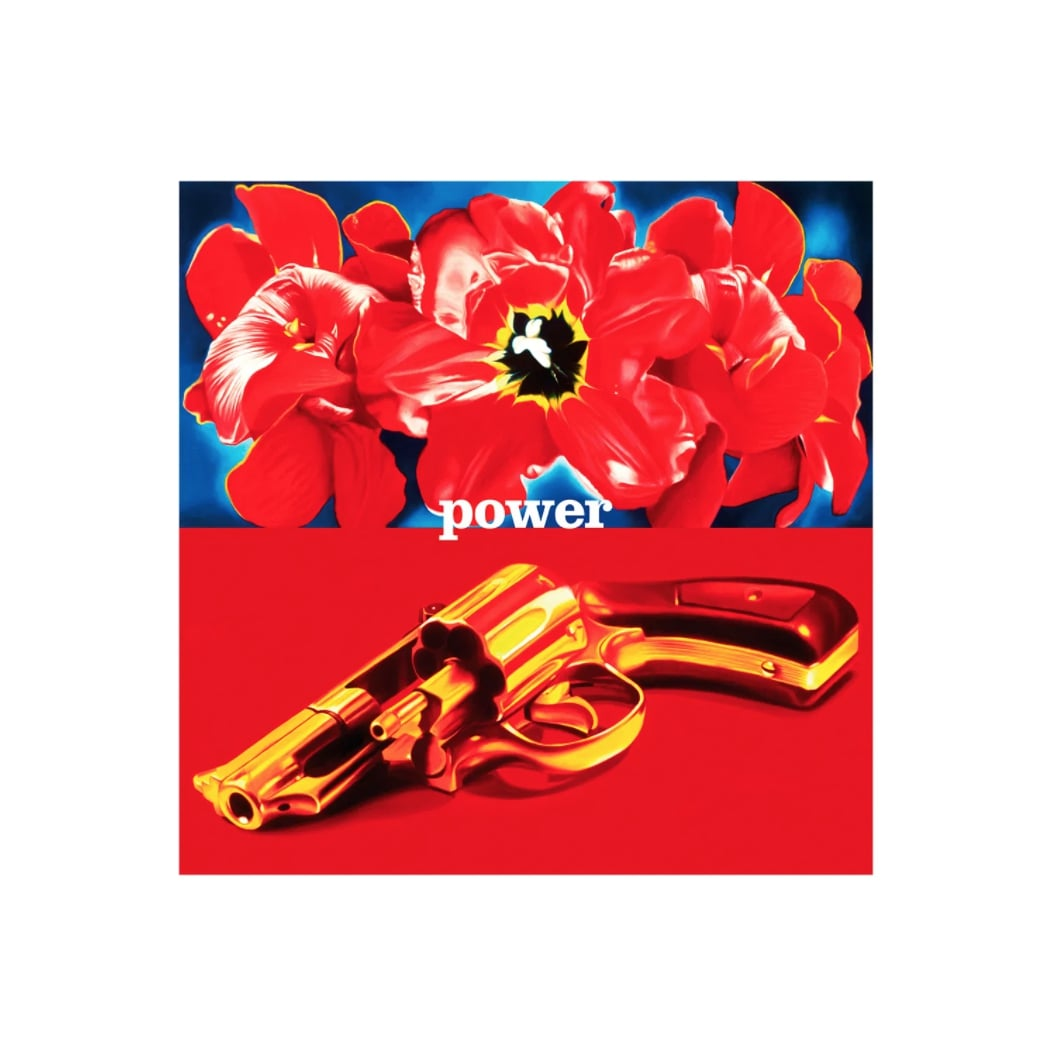 hatchikian-gallery-philippe-huart-flower-power-pop-toile