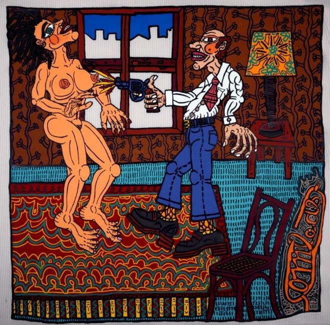 L'Adultère - Robert Combas