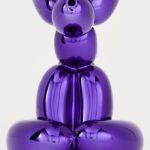 Jeff Koons - Balloon Rabbit (Violet)