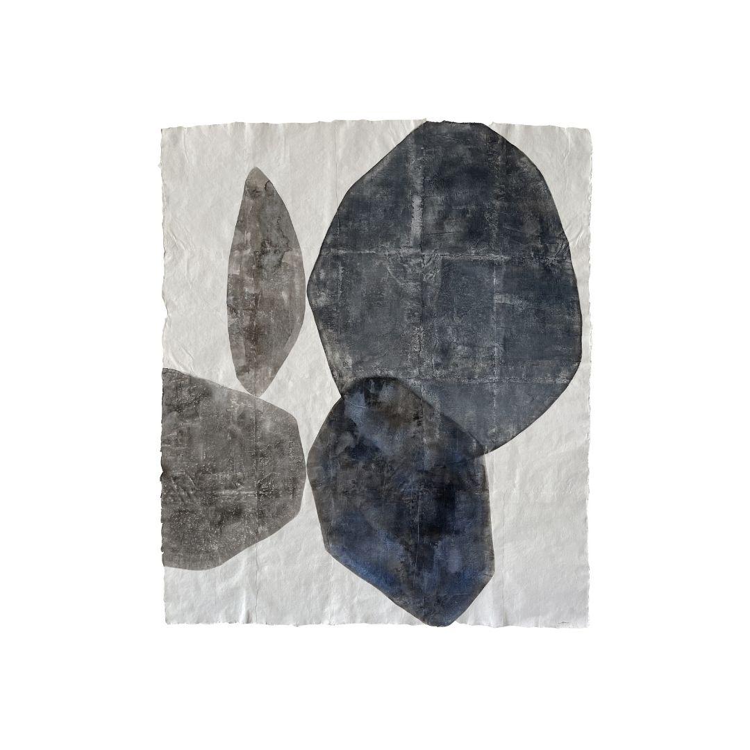 œuvre feuilles de peau de Maryi